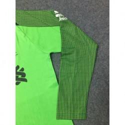 Liverpool green long sleeves goalkeeper jerseys size:18-1