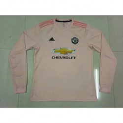 Pink-Away-Kit-Premier-League-Premier-League-Away-Kits-man-utd-away-pink-long-sleeves-Size18-19