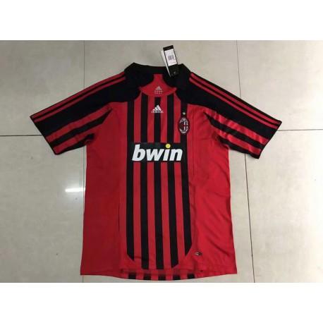 on sale eaa65 28cf0 Cheap AC Milan Kit,AC Milan Retro Kit,Size:07-08 AC milan home