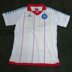 Npl white retro soccer jersey 20 size:18-201