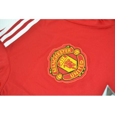 Size:17-18 manutd home long sleeve soccer jersey