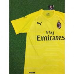 Ac milan yellow gk shirt size:18-1