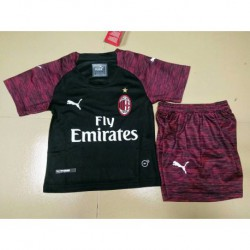 AC Milan 3rd Black Kid Size:18-1