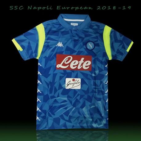 Npl blue europa match jersey shirt 20 size:18-201