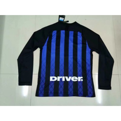 Size:18-19 Inter Home Jersey Long Sleeve
