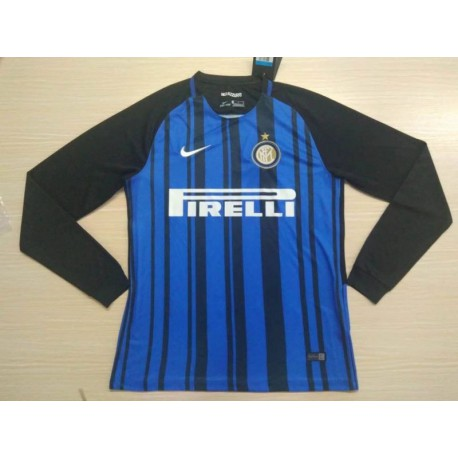 Long Sleeve Inter Milan Home Size:17-1