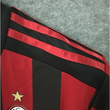 AC Home Soccer Jerseys Size:17-18 Season Player Versio