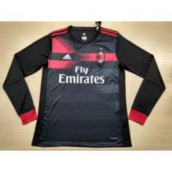 Size:17-18 AC Milan Third Longsleeves Soccer Jerse