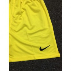 Size:18-19 france yellow gk short