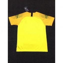 Size:18-19 france yellow gk shir