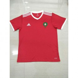 Morocco home soccer jersey 201