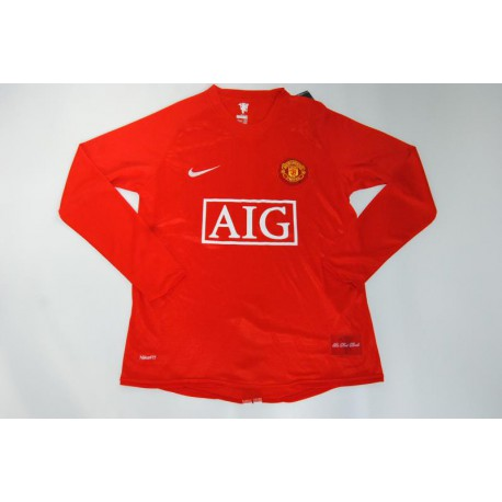 Man u size:07-08 long sleeve jersey