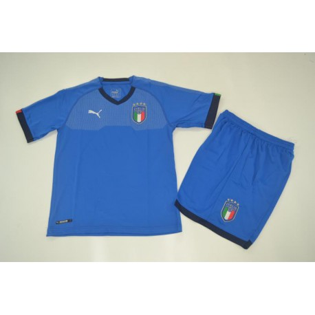 Italy Home 2018 World Cup Models For Kid