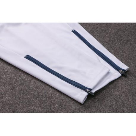 Semi Zipper Sweater Tracksuit Italy White Size:17-1