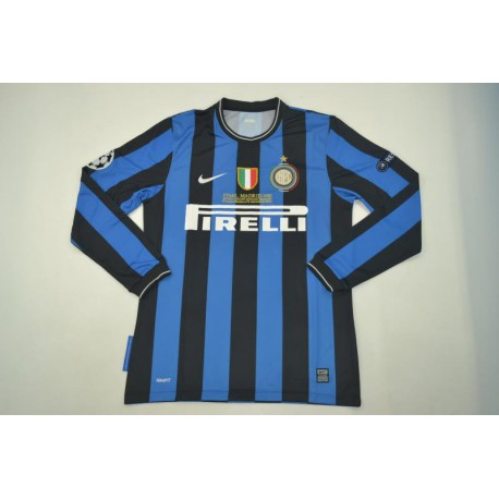 2010 INTER Home Jersey Long Sleeve