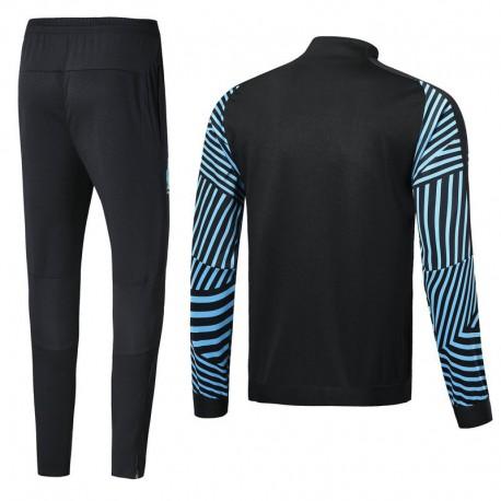 Mens Moncler Tracksuit Jacket,FILA Retro Tracksuit Jacket,Size:18 19 Marseilles black color jacket tracksuit
