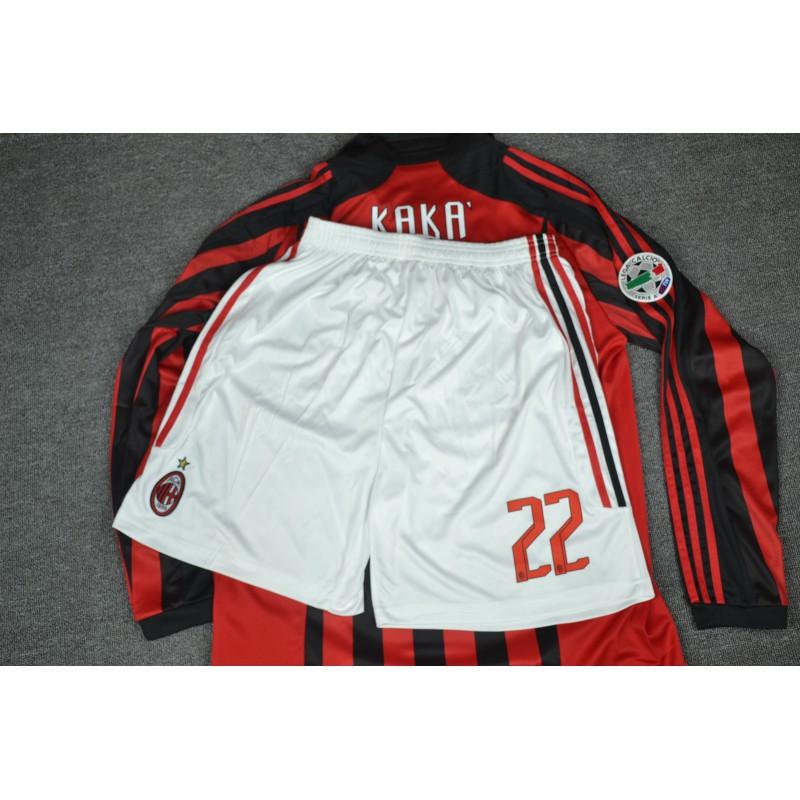 Buy Ac Milan Jersey Ac Milan Home Jersey Size 07 08 Ac Milan Home Retro Jerseys
