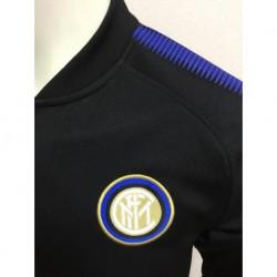 Inter Milan Black Jacket Low Colla