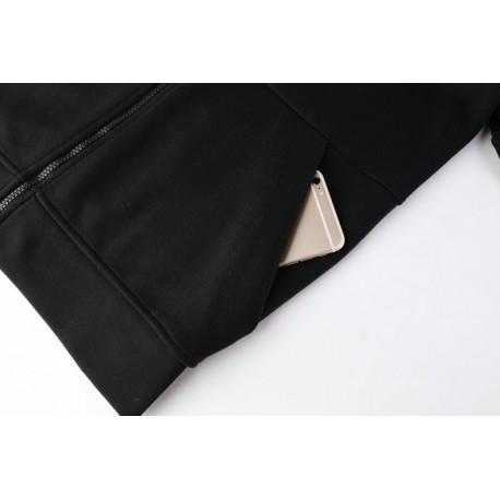Manutd black hoodie size:17-1
