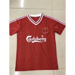 Liverpool red retro jerse