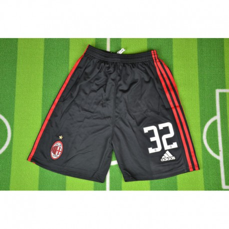 Size:08-09 AC Milan Home Retro Jerseys Long Sleeves And Shorts Sleeve