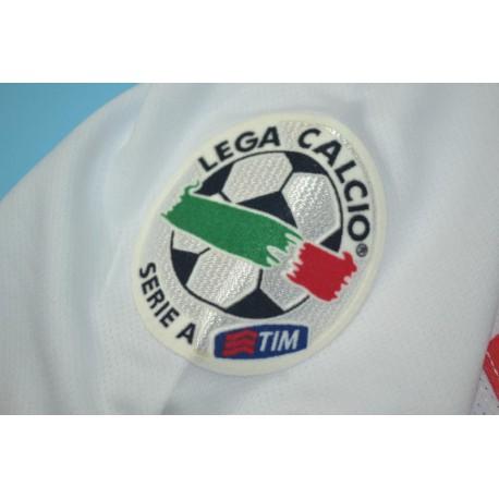 Size:08-09 Inter Away White Centennial Retro Jerse