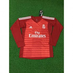 Red long sleeves gk jerseys size:18-1