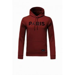 The-French-Football-Team-paris-dark-red-hoodie-Size18-19
