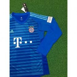 Bayern long sleeves blue gk shirt size:18-1