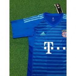 Bayern blue gk shirt size:18-1