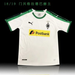 Monchengladbach home soccer jersey shirt 20 size:18-201