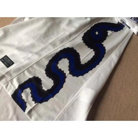 Size:10-11 Inter Away White Retro Jerse