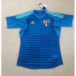 Sao paulo blue goalkeeper jerseys size:18-1