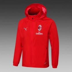 Size:18-19 Windbreaker AC Milan Red Color S-X