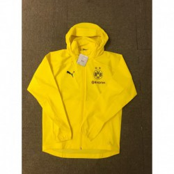 Size:18-19 dortmund yellow windbreaker jacke