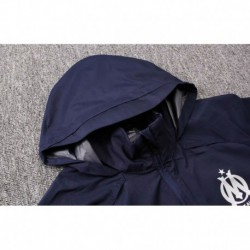 Size:18-19 marseille black windbreaker jacke