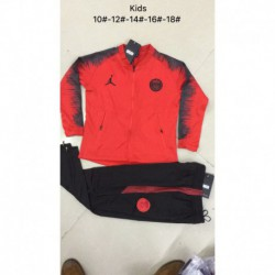 For kids jordan paris red jacket suit 20 size:18-201