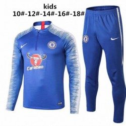 For Kids CFC Blue Training Suit 20 Size:18-201