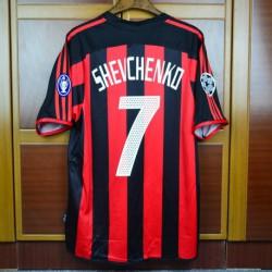 new product 2e984 eee38 AC Milan Home Kit,Jersey PUMA AC Milan,Size:03-04 AC milan ...
