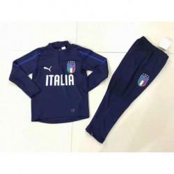 Italy Blue Kid Training Suit Size:18-1