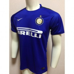Size:17-18 Inter Milan Blue Training Jerse