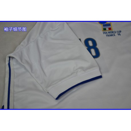 1998 World Cup Italy Away Whit