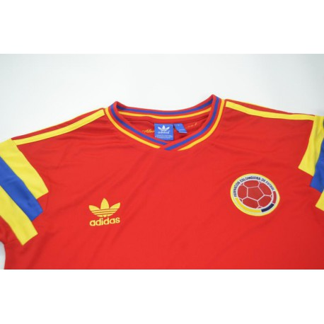 Colombia Red Jersey 2014,Adidas Colombia Jersey Red,1990 colombia retro red