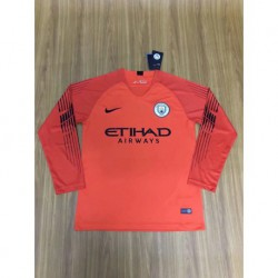 Jersey-City-City-Hall-City-Diner-Jersey-City-Size18-19-Man-city-orange-goalkeeper-long-sleeve-soccer-jerseys