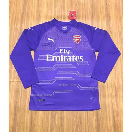 newest c7f7e 2384d Arsenal Purple Reign Jersey,Arsenal Goalkeeper Kit Purple,arsenal purple  long sleeves GK jerseys Size:18-19
