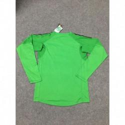 Man united green goalkeeper long sleeve soccer jersey shirt 20 size:18-201